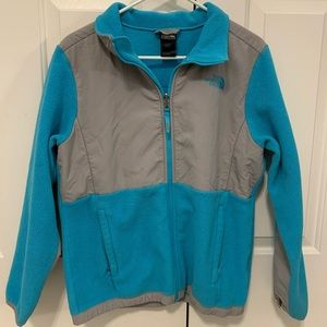 Children's Light Blue North Face Coat